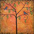 Tangerine Sky by Blenda Studio
