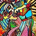 Tango Dance Of Love by Sandra Silberzweig