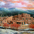 Taos Pueblo by Brooke lyman