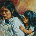 Tarascan Woman by Rick Nederlof