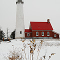 Tawas Point Lighthouse by Michael Peychich