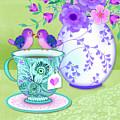 Tea For Two by Valerie Drake Lesiak