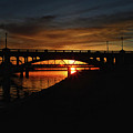 Tempe Bridge Sunset  by Saija  Lehtonen