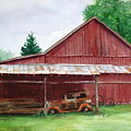 Tennessee Barn by Suzanne Krueger