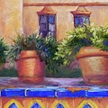 Terracotta And Tiles by Candy Mayer