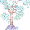 Tesselated Tree by Regina Valluzzi