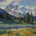 Teton Splendor by Lanny Grant
