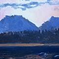 Teton Sunset by Bryan Alexander