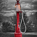 Texaco Gas Pump by Williams-Cairns Photography LLC