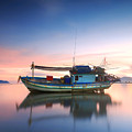 Thai Fishing Boat by Teerapat Pattanasoponpong