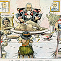 Thanksgiving Cartoon, 1898 by Granger