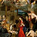 The Adoration Of The Shepherds by Fray Juan Batista Maino or Mayno
