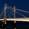 The Albert Bridge London by David Pyatt