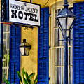 The Andrew Jackson Hotel - New Orleans by Bill Cannon