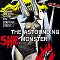 The Astounding She-monster, 1-sheet by Everett