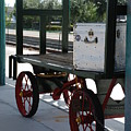 The Baggage Cart And Truck by Rob Hans