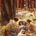 The Baths Of Caracalla by Sir Lawrence Alma-Tadema