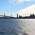 The Bay Bridge And The San Francisco Skyline Viewed From Treasure Island . 7d7771 by Wingsdomain Art and Photography