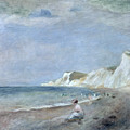 The Beach At Varangeville by Renoir