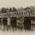 The Bridge At Washingtons Crossing by Bill Cannon