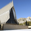 The Cadet Chapel At The U.s. Air Force by Stocktrek Images
