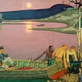 The Call Of The Sea by Frederick Cayley Robinson