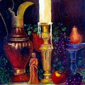 The Candlestick And Pitcher by Jeanene Stein