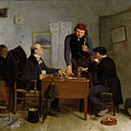 The Card Players by  Richard Caton Woodville
