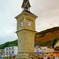 The Clock Tower At Shanklin by Rod Johnson