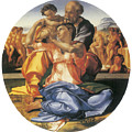 The Doni Tondo by Michelangelo Bounarroti