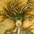 The Face Of Dryad by Alysa Fioretzi