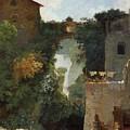 The Falls Of Tivoli by Jean Honore Fragonard