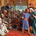 The Finding Of The Savior In The Temple by William Holman Hunt