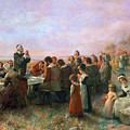 The First Thanksgiving by Granger