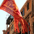 The Flag Of Venice by Michael Henderson
