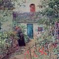 The Flower Garden by Abbott Fuller Graves