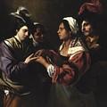 The Fortune Teller by Bartolomeo Manfredi