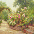 The Garden Steps   by Ernest Walbourn