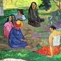 The Gossipers by Paul Gauguin