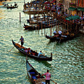 The Grand Canal Venice by Harry Spitz