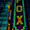The Historic Fox Theatre by Kelly Rader