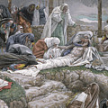 The Holy Virgin Receives The Body Of Jesus by Tissot