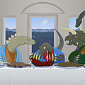 The Last Supper Of Raptor Jesus by Greasy Moose