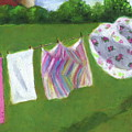 The Laundry On The Line by Joyce Geleynse