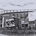 The Linc - Philadelphia Eagles by Bill Cannon