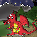 The Little Red Dragon by Kev Moore