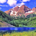The Maroon Bells by Dominic Piperata