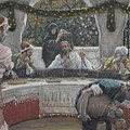 The Meal In The House Of The Pharisee by Tissot