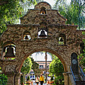 The Mission Inn Entrance by Tommy Anderson
