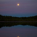 The Moon Over Kirkas-soljanen 3 by Jouko Lehto